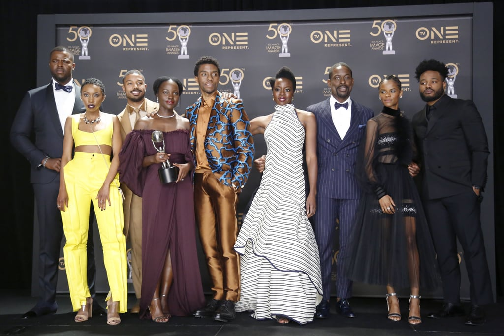 Black Panther Cast at the 2019 NAACP Image Awards