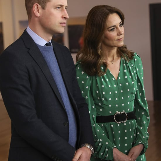 Kate Middleton's Green Suzannah Polka-Dot Dress and Belt