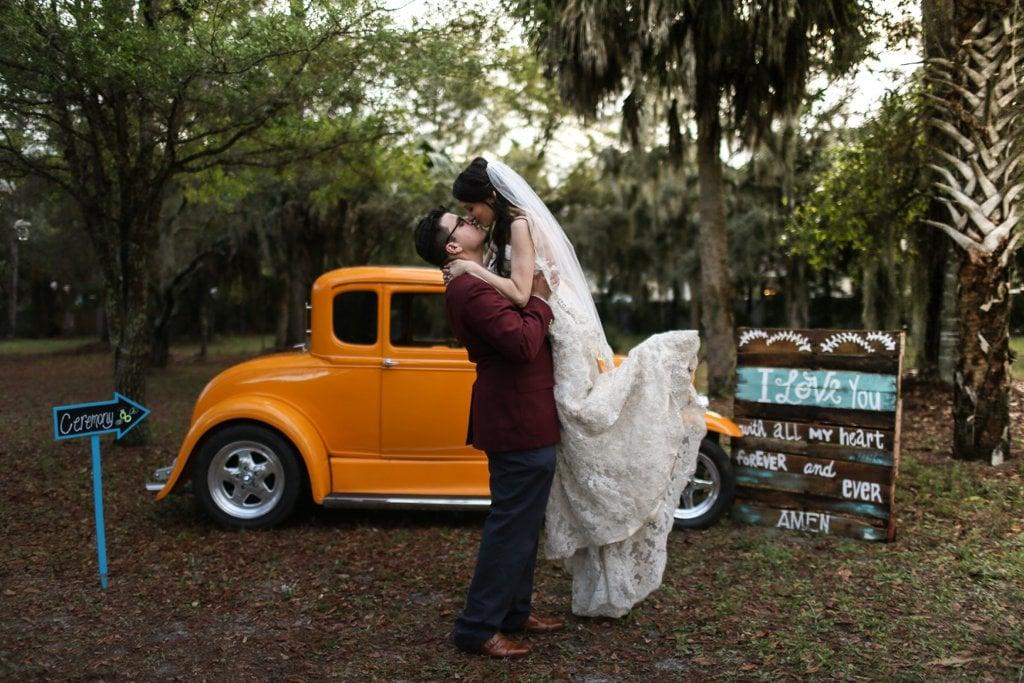 Rustic Barnyard Wedding