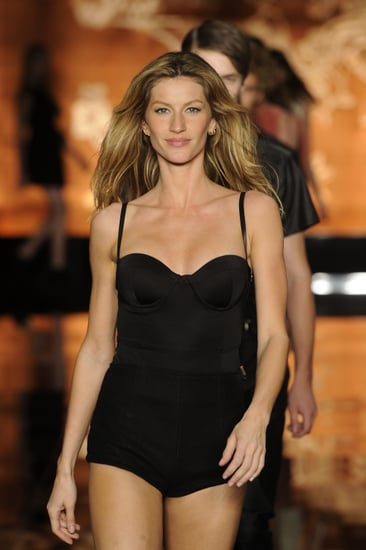 Pictures of Gisele Bundchen in a Swimsuit at Colcci Runway Show in Brazil