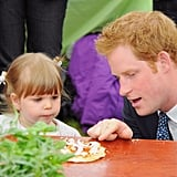 When He Talked Pizza Toppings With This Adorable Little Girl