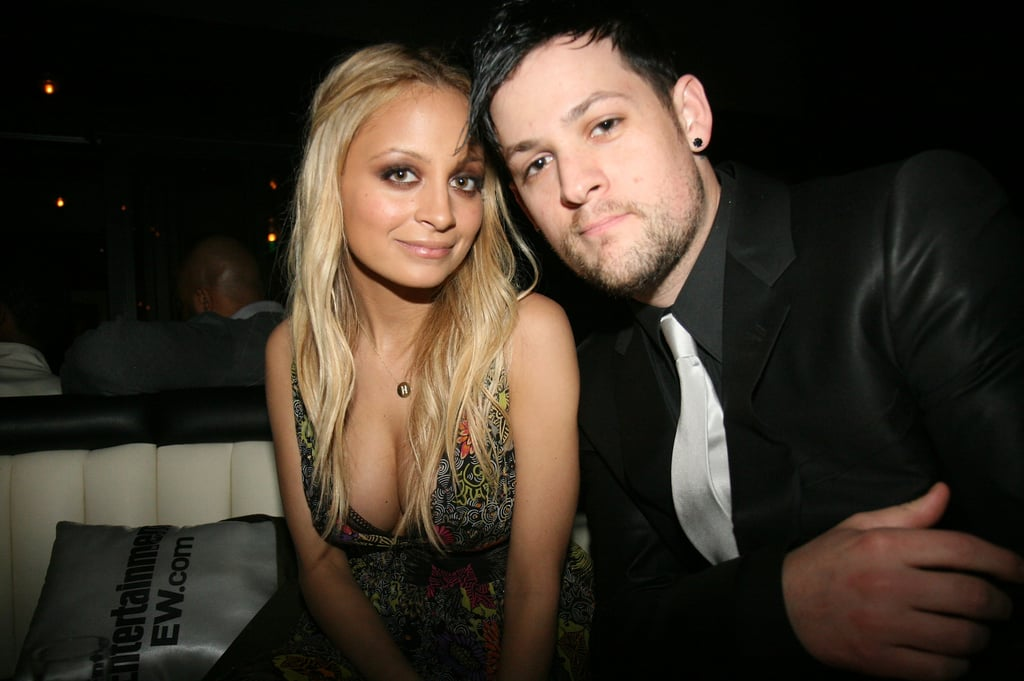 Joel Madden snapped a shot of the couple during an LA night out in 2008.