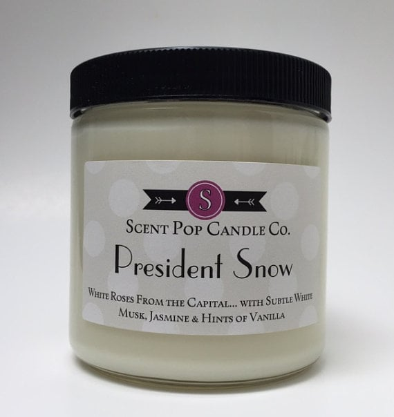 President Snow Candle ($19)