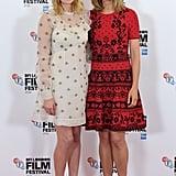 Laura Carmichael and Rosamund Pike