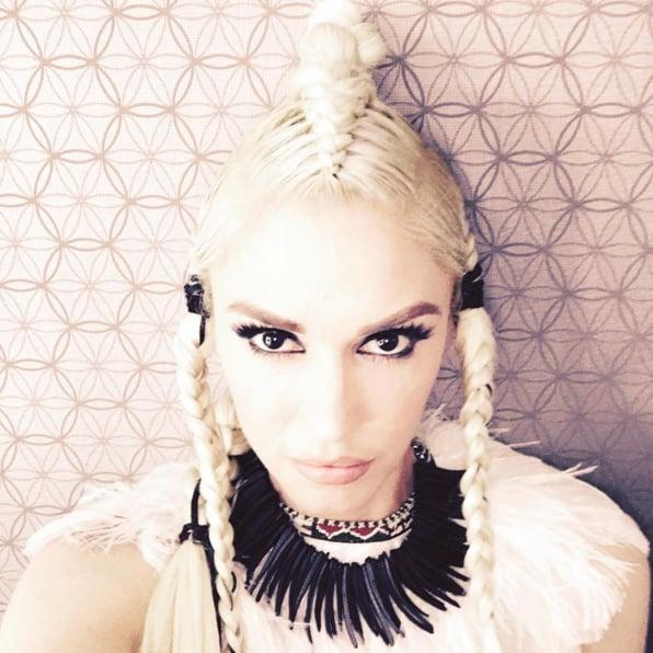 Gwen Stefani Braids on The Voice 2016