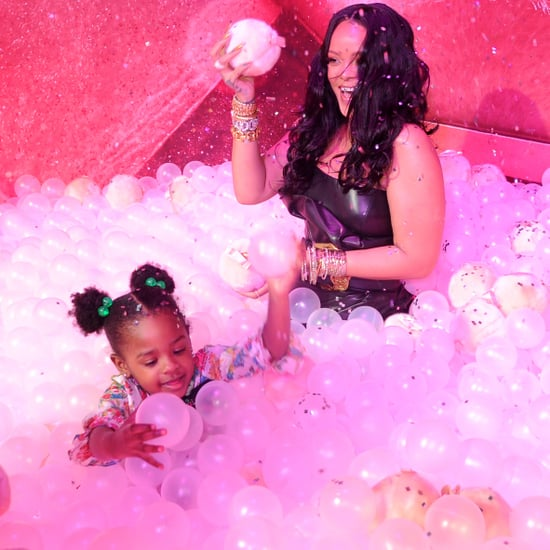 Rihanna and Niece Majesty at Fenty Beauty Event April 2018