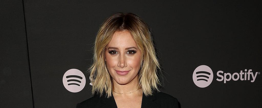 Ashley Tisdale's Strawberry Blonde Hair April 2019