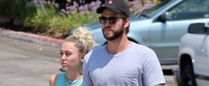 Miley Cyrus Wears Her Engagement Ring Again While Holding Hands With Liam Hemsworth