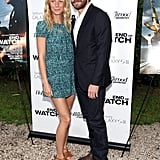 Gwyneth Paltrow supported friend Jake Gyllenhaal at a private screening of his new film, End of Watch, in the Hamptons on August 19.