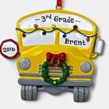 School Bus Grade Ornament