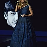 Carrie Underwood sang a Beatles song to commemorate their first performance on The Ed Sullivan Show.