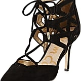 Sam Edelman Caged Lace-Up Pumps