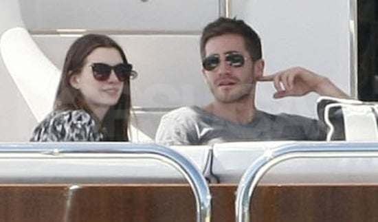 Pictures of Jake Gyllenhaal and Anne Hathaway on a Yacht in Sydney