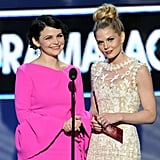 Ginnifer Goodwin and Jennifer Morrison