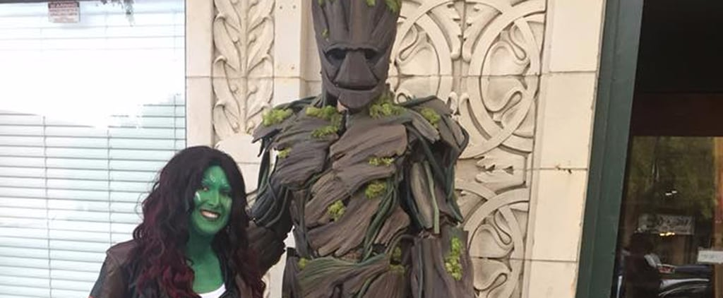 DIY Groot Guardians of the Galaxy Costume
