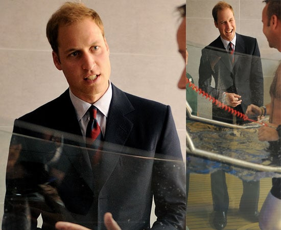Pictures of Prince William Opening a Rehab Centre for Injured Soldiers