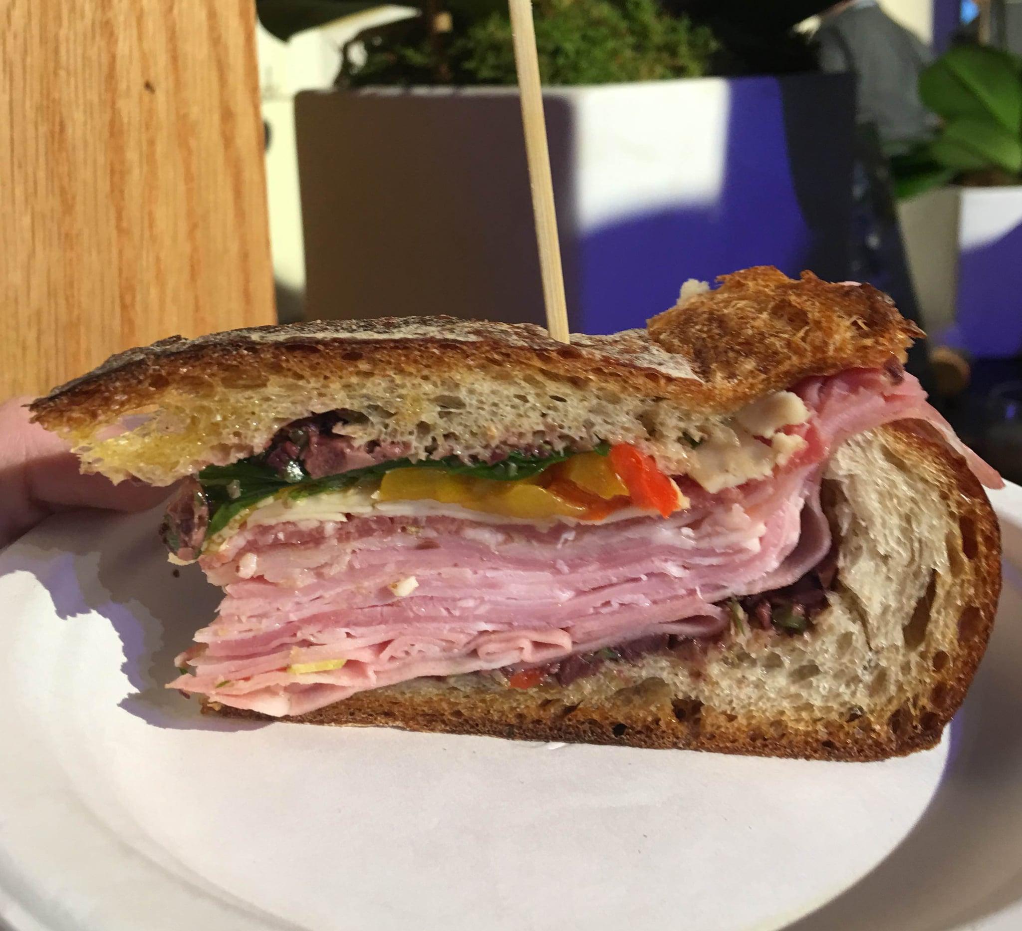 Giada's Mufuletta Sandwich