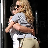 Joshua Jackson Sweeps Diane Kruger Off Her Feet in Time For Valentine's Day