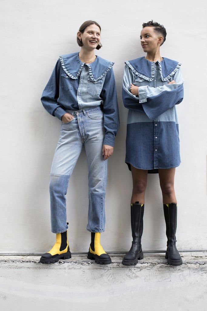 Ganni and Levi's Rental-Only Denim Capsule Collection