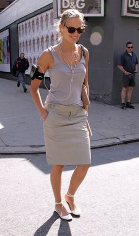 Karolina Kurkova Makes iPod Armbands Look Good