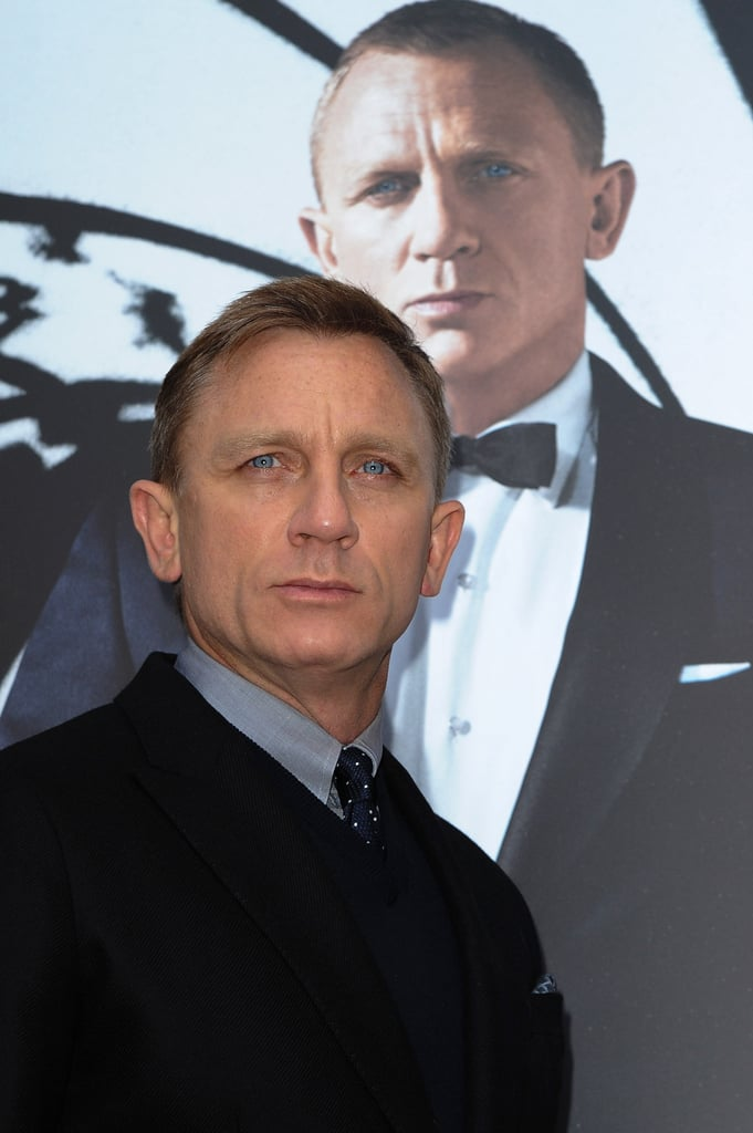 Daniel Craig attended a photocall in Paris for Skyfall.