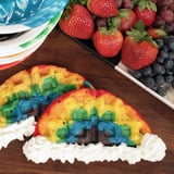 These Rainbow Waffles Taste Like Happiness