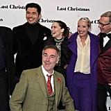 Emma Thompson Glitter Star Hairstyle Last Christmas Premiere
