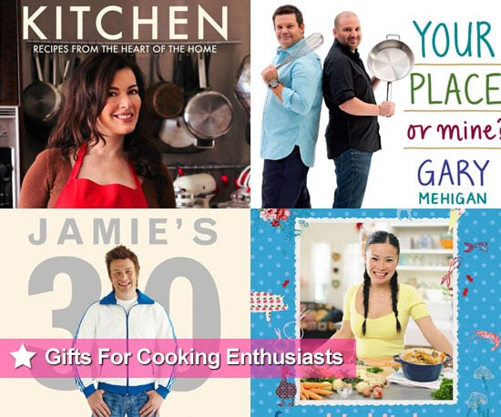 Celebrity Chef Cookbooks Christmas Present and Gift Ideas For Cooking Enthusiasts
