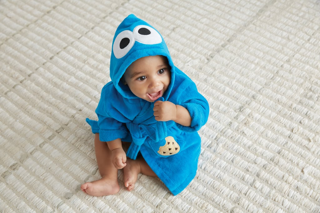 Fuzzy Cookie Monster Baby Robe ($39)