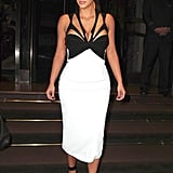 Kim Kardashian in NYC in 2012