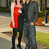 The couple posed for pictures together at the season two premiere screening of Sons of Anarchy in 2009.