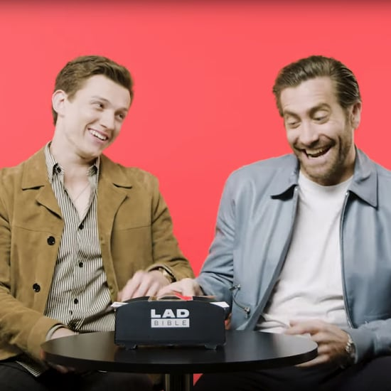 Jake Gyllenhaal Doing an Impression of Tom Holland Video