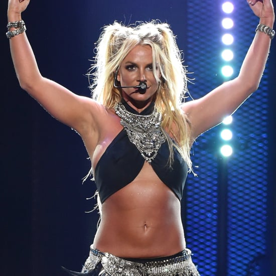 Britney Spears's iHeartRadio Music Festival Performance 2016