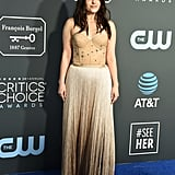Emily Hampshire at the 2019 Critics' Choice Awards