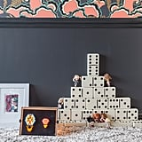 """With two young children of her own, Tamara knows that a tot's room has to """"inspire and create curiosity and imagination in children"""" while also reflecting the rest of the home. Vintage toys — like dominoes and an original Lite-Brite —help bring it all together.  Photos courtesy of: Marco Ricca"""