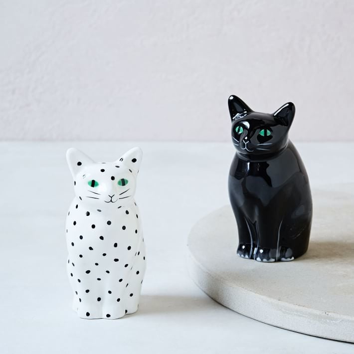Cat Salt + Pepper Shaker Set ($29)