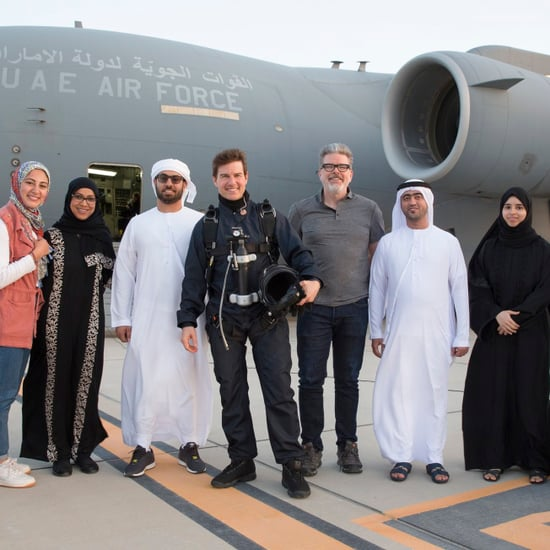 Tom Cruise Filming Mission: Impossible Fallout in Abu Dhabi