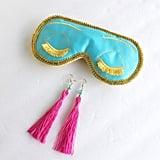 Earrings and an Eye Mask Set