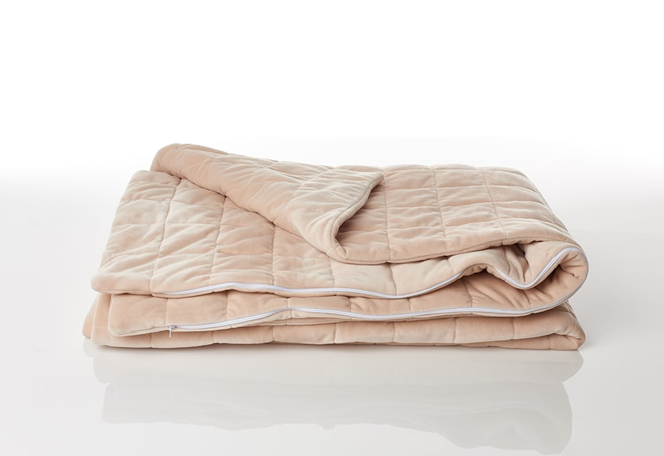 Sharper Image Most Luxurious Stress Relieving Weighted Blanket