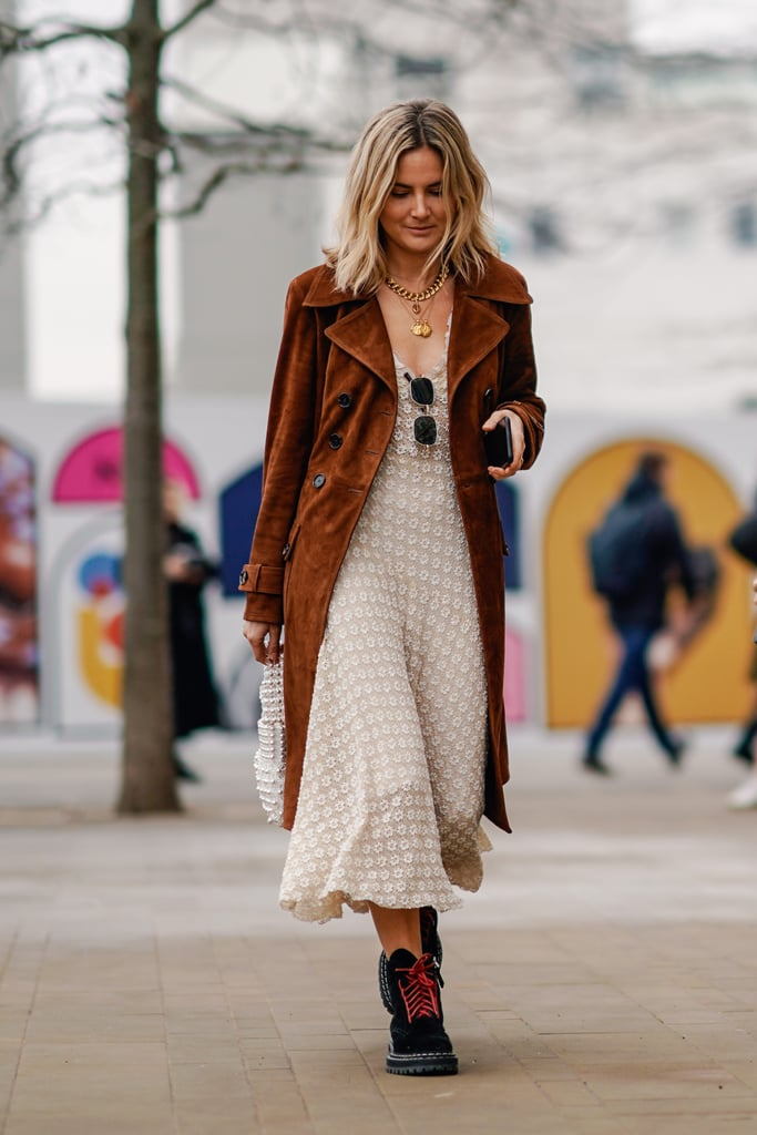 How to Wear Suede: A Trench