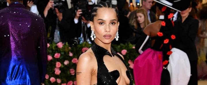 Zoë Kravitz Dress at Met Gala 2019
