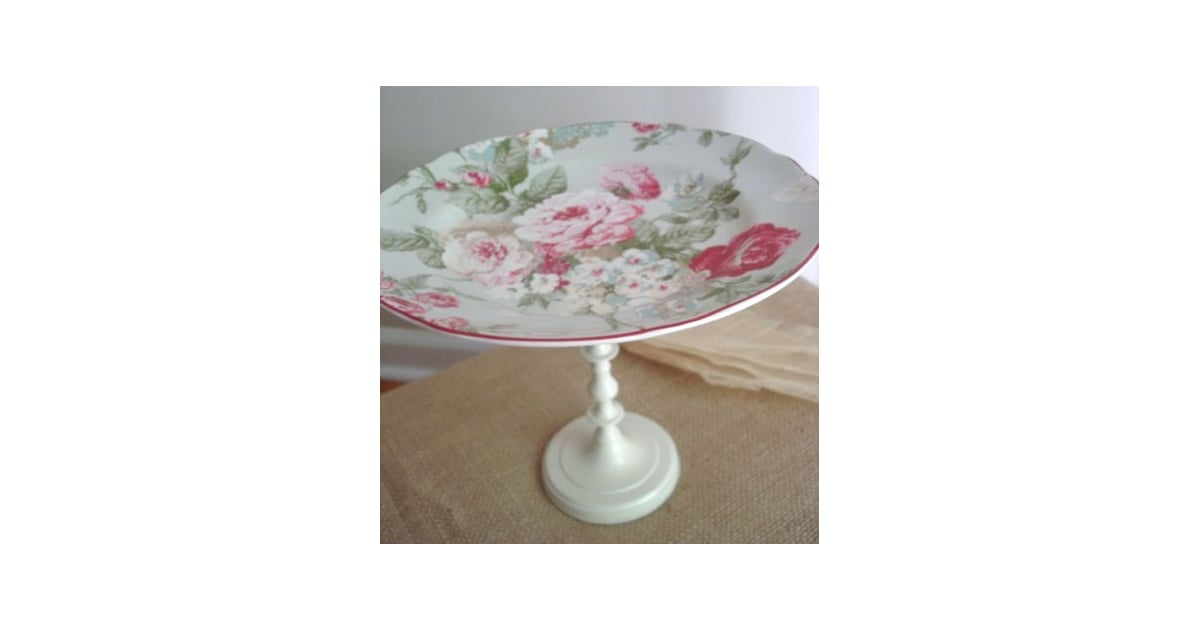 I 39 ve seen some really pretty cake stands like this shabby for Pretty cake stands