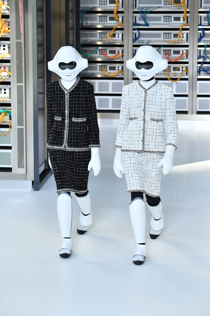Chanel Data Center Show Spring 2017