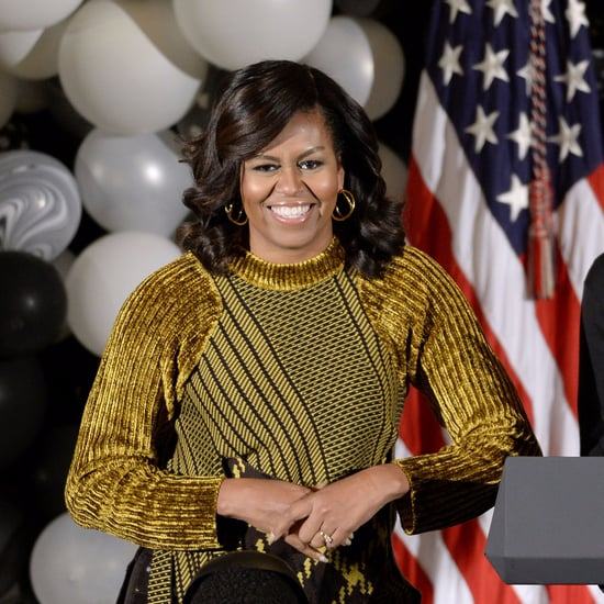 Michelle Obama 3.1 Phillip Lim Sweater Halloween 2016