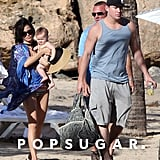 Channing Tatum and Jenna Dewan enjoyed a family vacation in Puerto Rico.