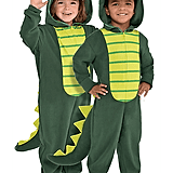 Zipster Dinosaur One-Piece Costume