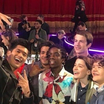 13 Reasons Why and Stranger Things Photo at 2017 MTV Awards