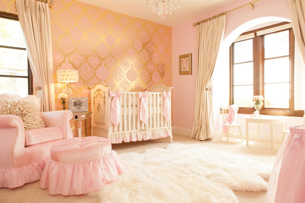 Pink Nurseries And Baby 39 S Rooms Popsugar Moms