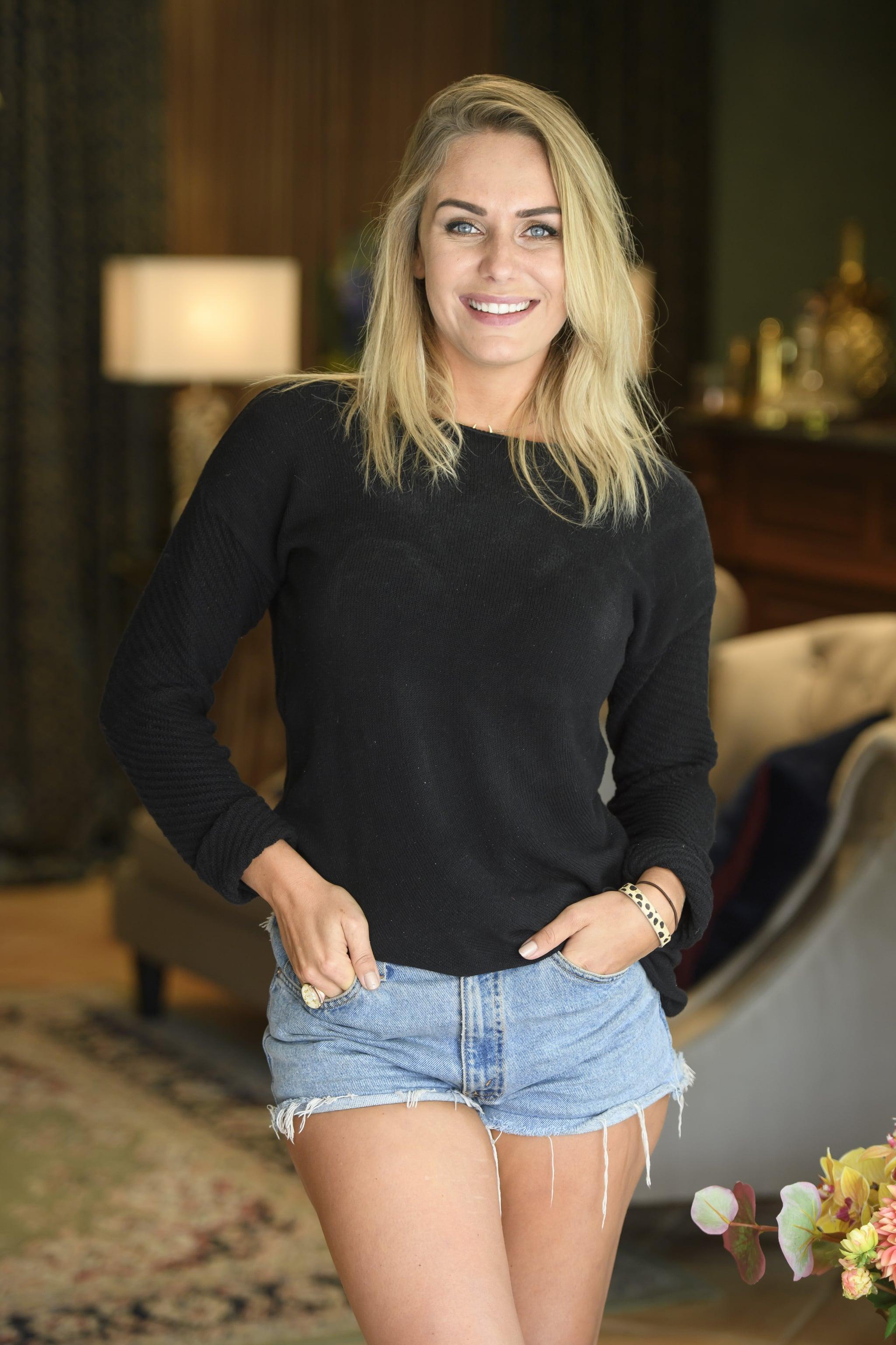 Florence Alexandra Sophia The Bachelor Elimination Interview  Popsugar Celebrity Australia-2730