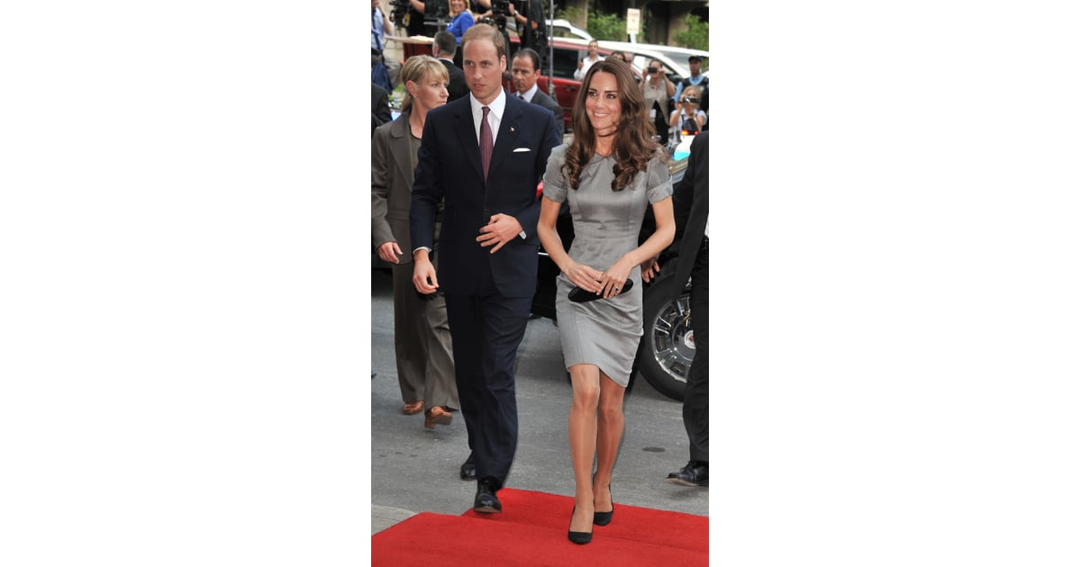92b4b1d85a8a1 She Typically Wears Flesh-Colored Tights With Her Dresses | Meghan Markle  Tights in Royal Engagement Photo | POPSUGAR Fashion Photo 3